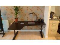 Black Corner Computer Desk - IKEA Bekant