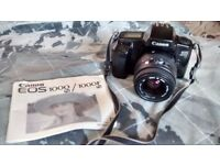 Canon EOS 1000F N BODY & LENS & ACCESSORIES