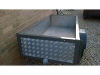 solid car trailer, excellent condition wont rust