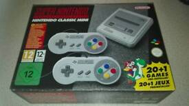 Snes Mini Classic Brand New And Unopened