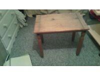 side table , cabinet on wheels etc