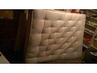 Dreams Kingsize orthopeadic mattress 9 months old (£500 new) central London bargain