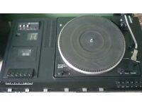 Vintage Turntable Radio Cassette System Garrard SP25 Mark V