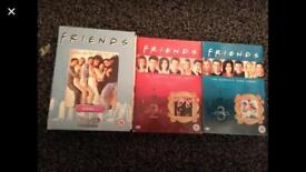 Friends S1-3 DVDs