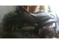 quad bike scorpion 180 cc ,tow ball ,reverse gear