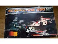 Vintage 70's Scalextric set