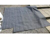 Dark carpet offcut - 2.4m x 2.1m