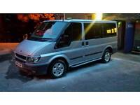 Ford transit tourneo camper day van surf van