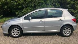PETROL PEUGEOT 307 S 1.4L (2006) year mot low 60,000 miles ready to drive away