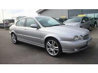 JAGUAR X-TYPE 2.0 SPORT D 4d 130 BHP * QUALITY & BEST VALUE ASSURED * (silver) 2005