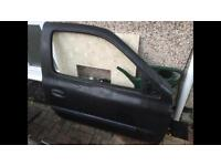 Renault Clio drivers door 3DR BLACK