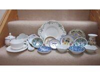 China bowls, plates and ornaments