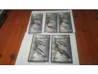 13 x Spinners, Plugs, Lure & Softbaits collection. NGT new in box. Pike / Perch