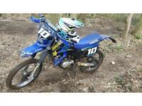 Dt125r swap for 250+ motocross bike