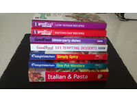 COOKERY BOOKS x 7