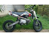 Demon x 140 stomp pit bike Not welsh lifan 80 110 125 160
