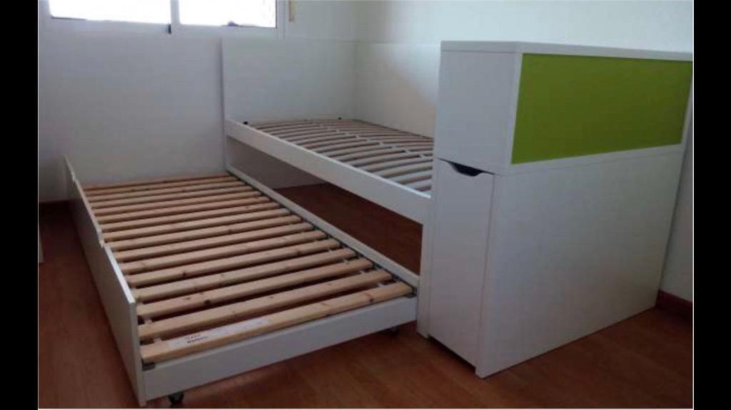 Ikea Flaxa Quality Single Spare Under Bed Mattress Shelves