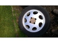 Ford 15 inch Alloy wheels