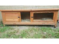 Guinea pig hutch (Pets at Home)