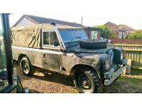 "Land Rover Series 3 109"" Ex MoD 200tdi"