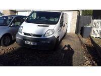 2x Vauxhall vivaro spares or repair