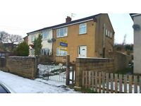 3 BEDROOM HOUSE TO LET FOR RENT KEIGHLEY - NORTH DEAN ROAD BD22 6QS