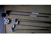Houson Half Set Golf Clubs + 10 Golf Balls