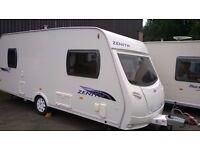 Lunar Zenith 5 Berth Touring Caravan 2009