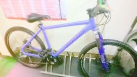 CARERRA MTB WITH DISKS, LOADS NEW PARTS FULL RSTORATION