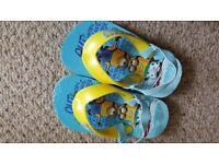 Size 4/5 boys flip flops