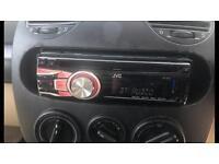 JVC KD-53 car stereo CD player USB AUX