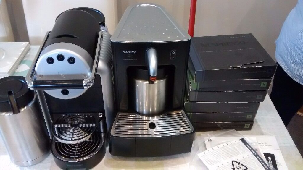 Nespresso Zenius Commercial Coffee Machine