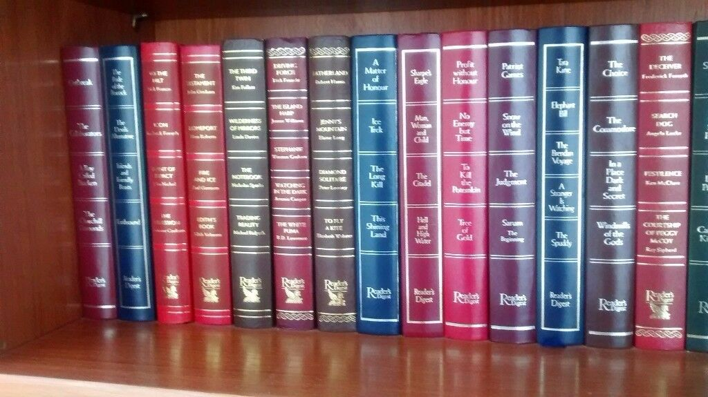 Books, hardback, readers digest collection