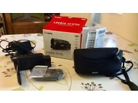 Canon Legria HFR706 HD Camcorder plus Carrying Case