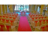 CHAIR COVERS AND SASHES FOR ALL OCCASIONS £1