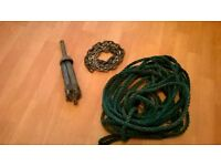 Anchor chain rope
