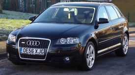 Audi A3 2.0 TDI Sport Sportback 5dr£3,499 p/x welcome 3 OWNERS,FULL SERVICE,