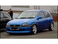 Vauxhall corsa b sport alloys & coilovers (astra nova redtop cavalier)
