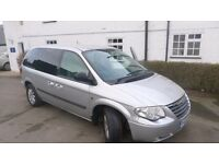 Chrysler Voyager, 2.5 CRD, 7 leather seats, manual, MOT till 07/17, Tel. 07778576212