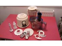 FOOD PROCESSOR Russell Hobbs, like new, with various accessories