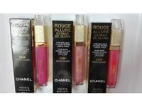 Chanel Rouge Allure Crystal Collagen Pure Brillance Pure Shine Lip Gloss Long Wear