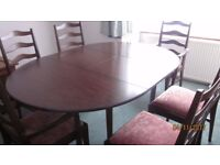 Stag Table & chairs