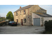 Lovely, detached, rural 3 bedroom house with garage