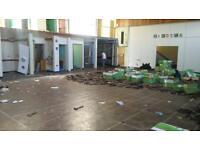 Reclaimed parquet flooring £15 per sqm