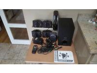 Multimedia surround speaker system (CREATIVE INSPIRE GD580)