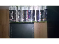 Xbox Elite 120GB 2 controllers and 31 Games