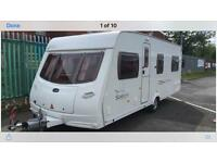 Lunar Solaris 4 berth fixed bed van immaculate condition