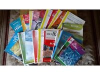 Higher and Standard Grade revision books.