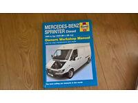 Workshop Manual for Mercedes-Benz Sprinter