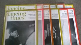 Dancing Times 1974 all 12 copies. Good condition